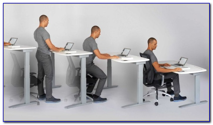 Stand Up Sit Down Desk Adjustable
