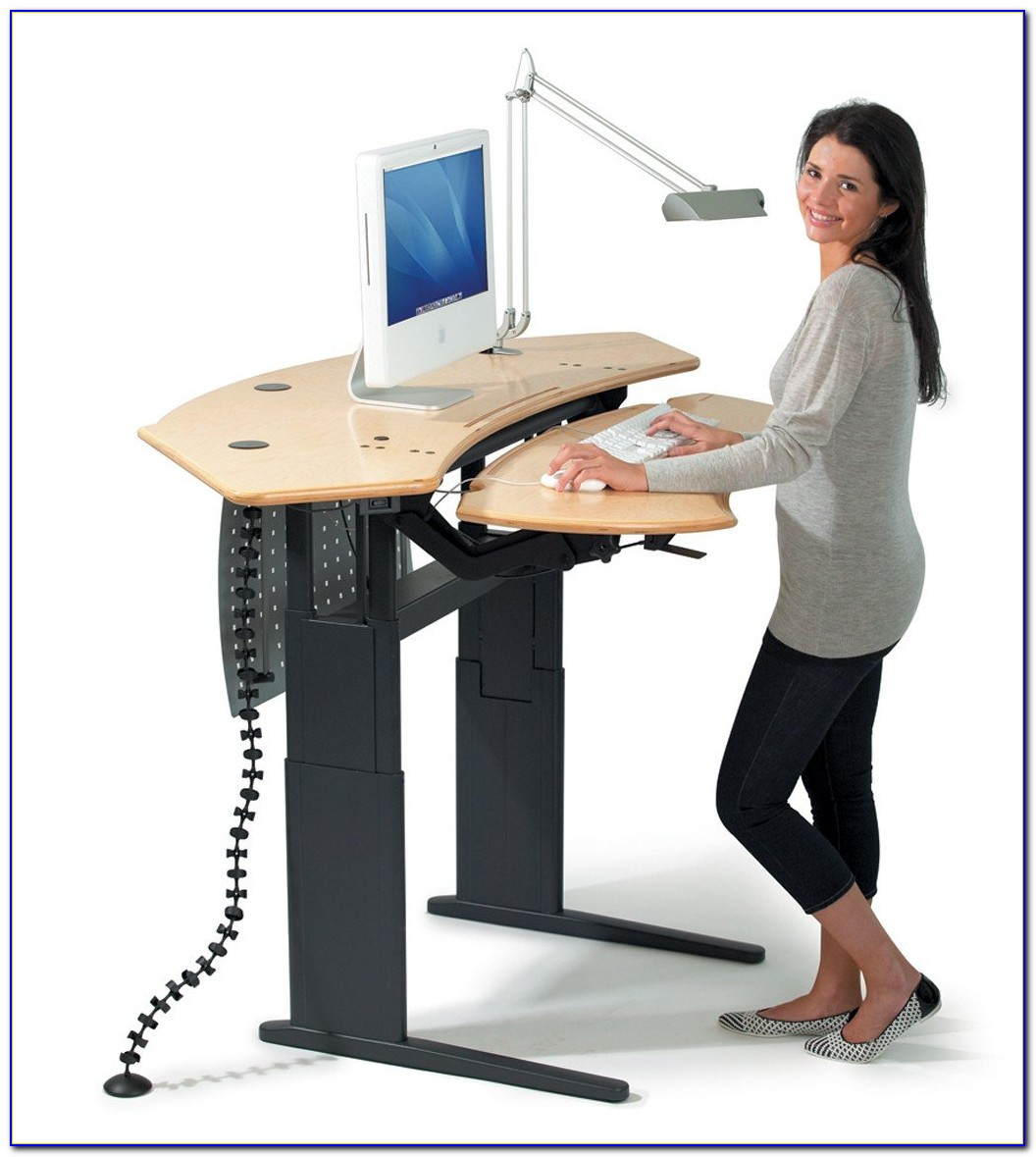 Standing Up Desks To Work At