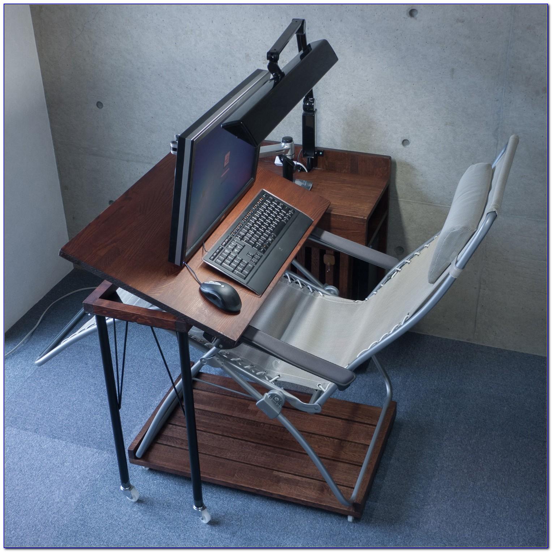 Swivel Laptop Table For Recliner