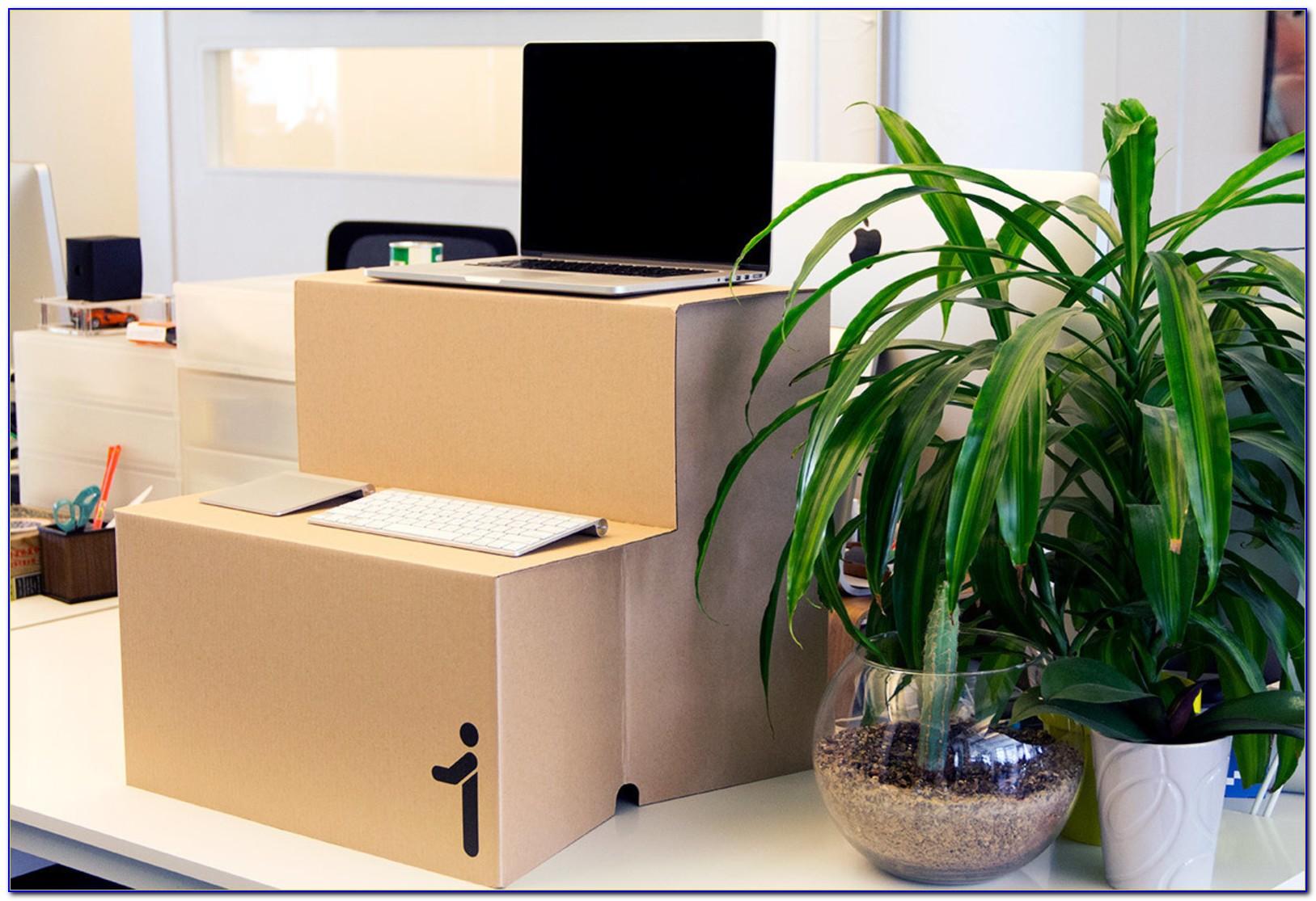 Turn Your Regular Desk Into A Standing Desk