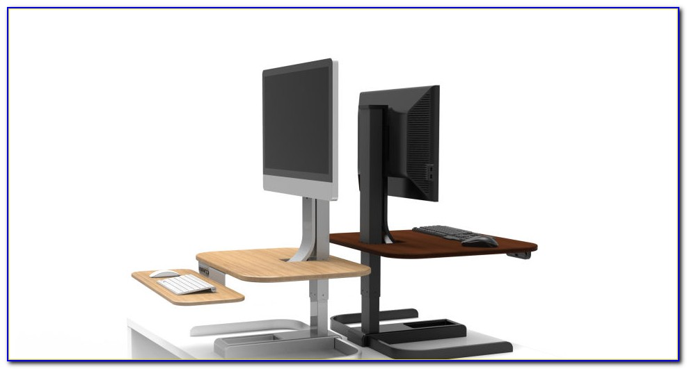 Turning Your Office Desk Into A Standing Desk
