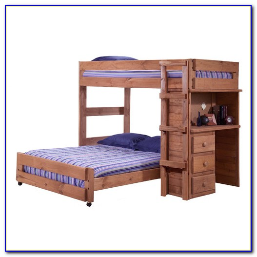 Twin Size Bunk Beds With Desk