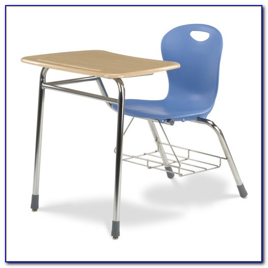 Used Student Desk Chair Combo