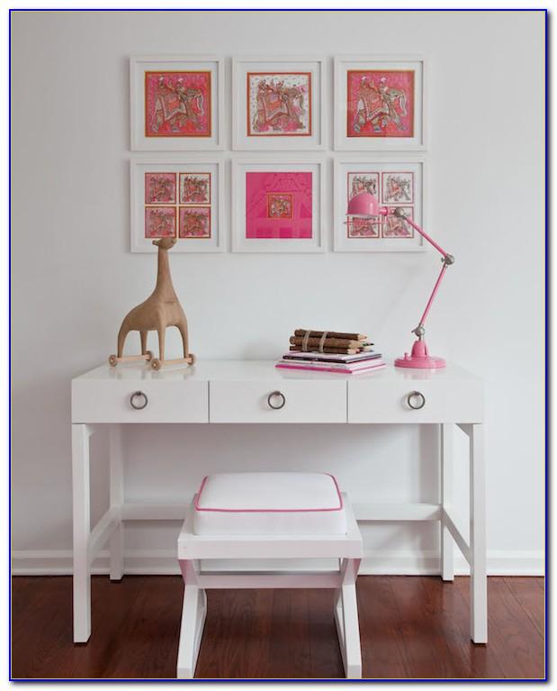 White Desk For Girls Bedroom