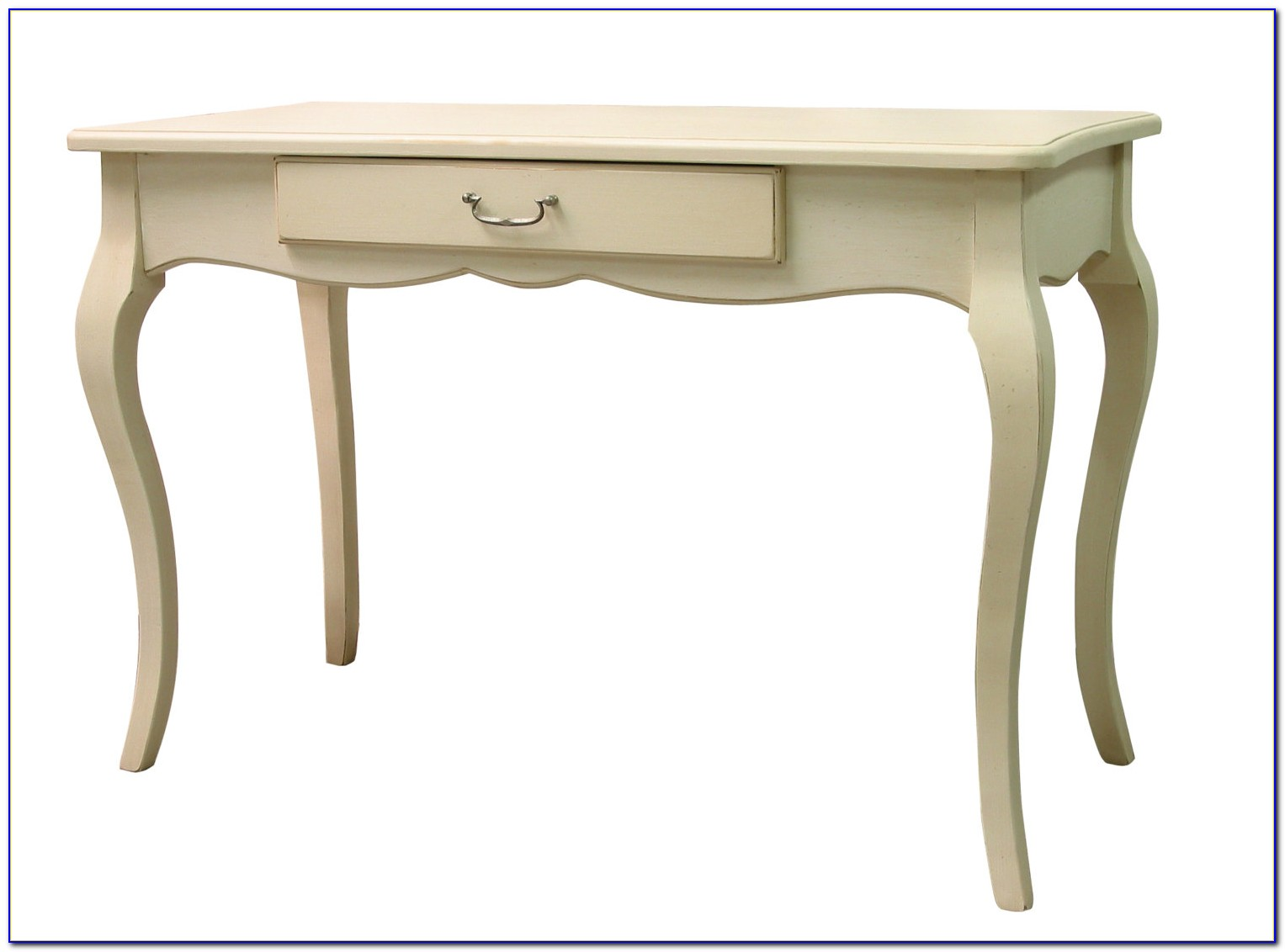 White French Provincial Writing Desk