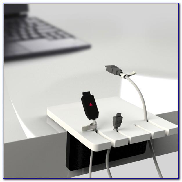 Wire Holder For Desk