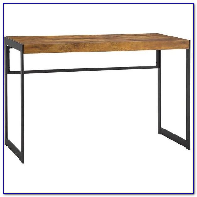 Wood And Metal Desk Target