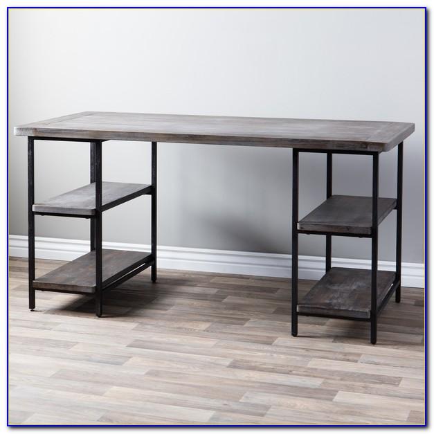 Wood And Metal Desk Uk