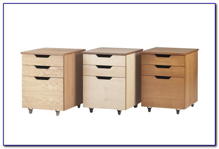 4 Drawer Under Desk Cabinet