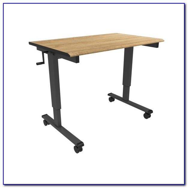 Adjustable Height Desk Hand Crank