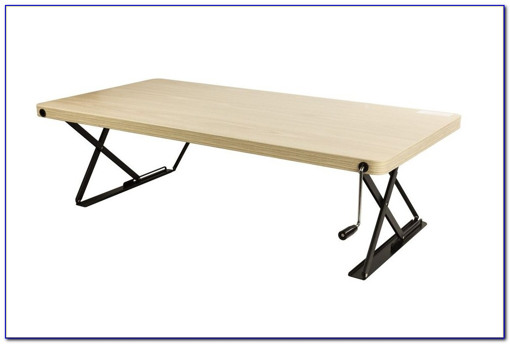 Adjustable Height Desk Table Top