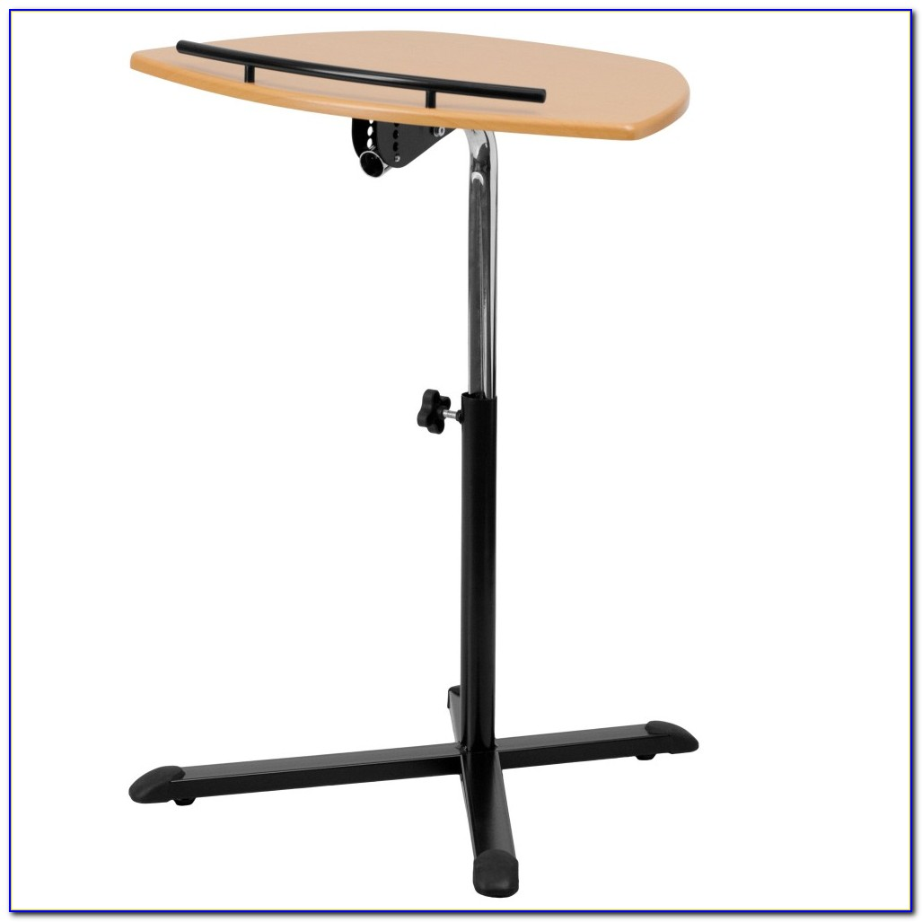Adjustable Height Laptop Table