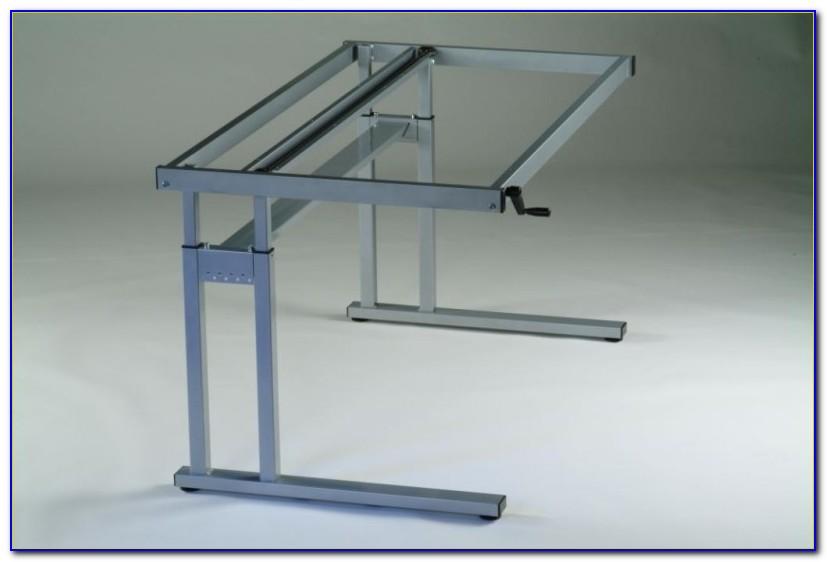 Adjustable Height Standing Desk Frame