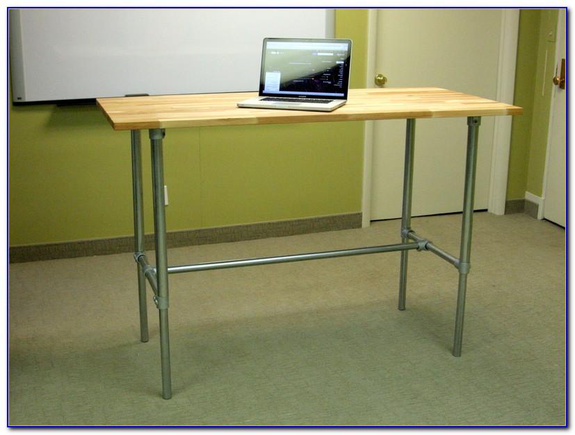 Adjustable Standing Desk Ikea Hack