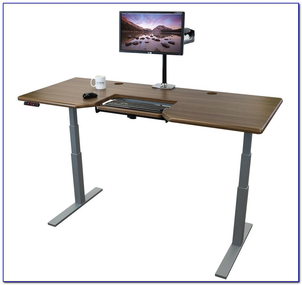 Adjustable Standing Desk Keyboard Tray