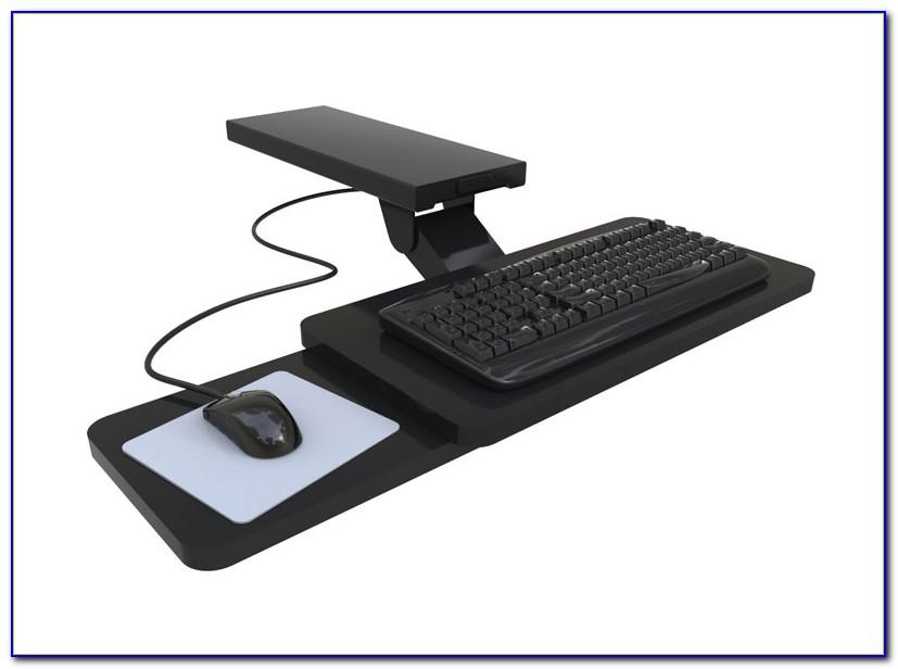 Aidata Under Desk Mouse Platform