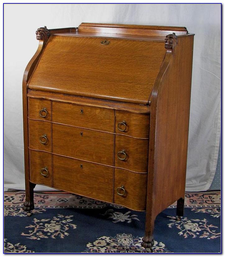 Antique Drop Front Desk Hinge