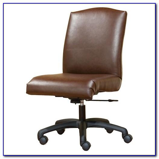 Armless Swivel Desk Chair