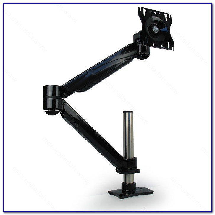 Articulating Single Arm Computer Monitor Desk Mount