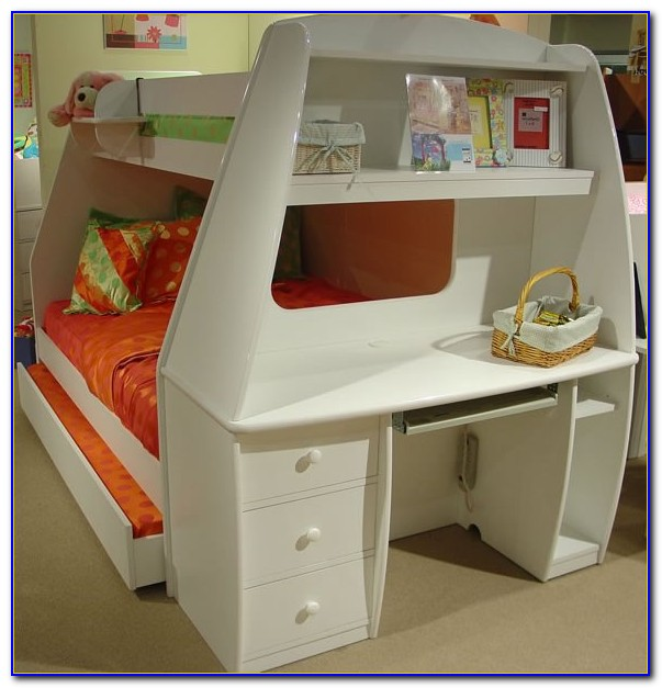 Beds With Desks Attached