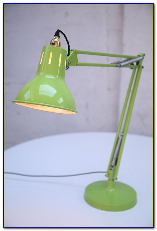 Bright Green Table Lamp