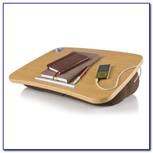 Brookstone Epad Portable Laptop Desk With Speakers