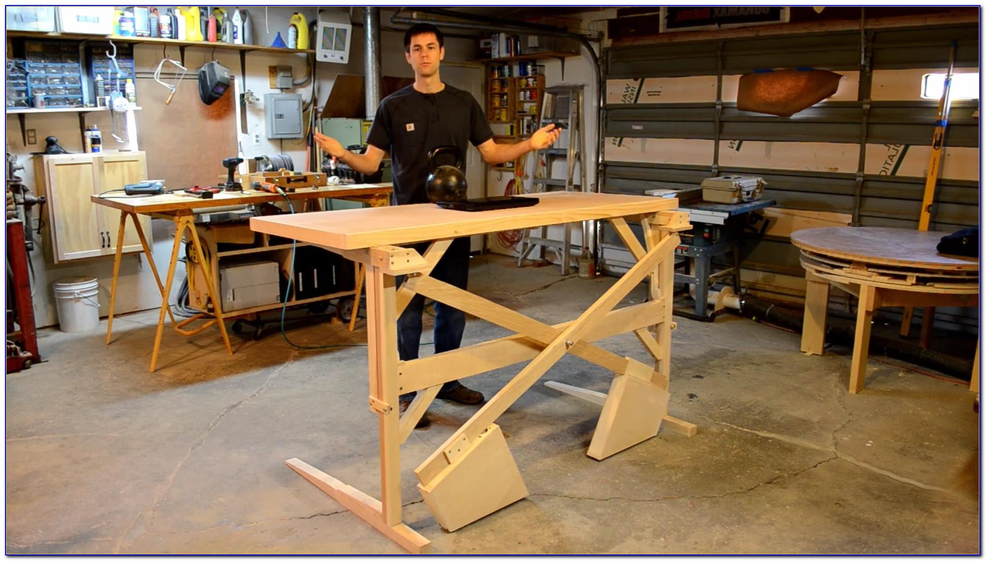 Build Convertible Standing Desk