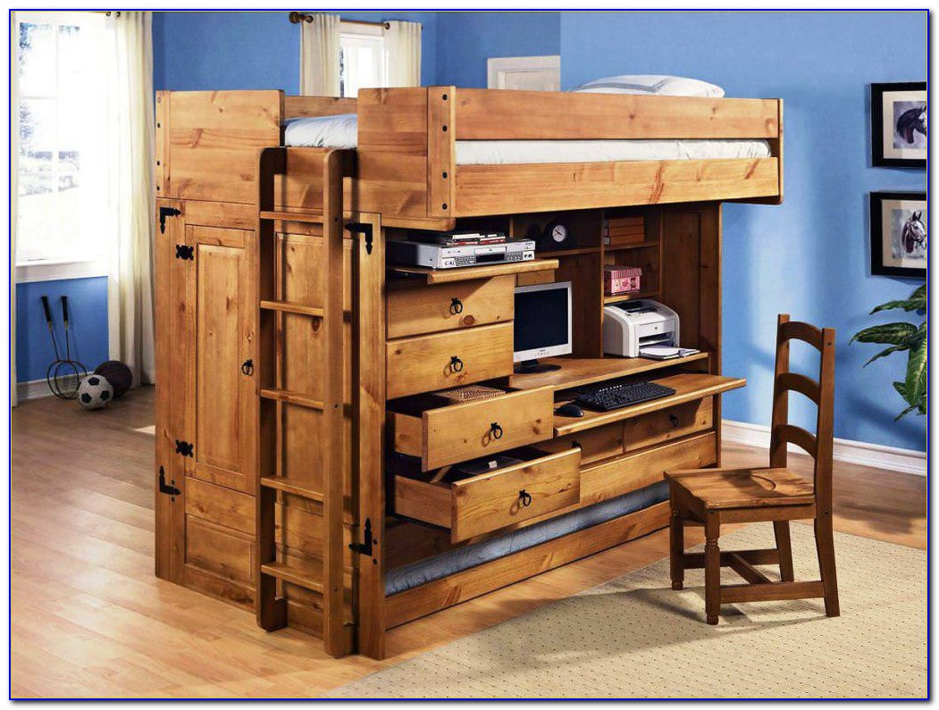 Bunk Bed And Desk Ikea