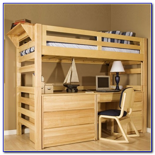 Bunk Beds With Desks And Drawers