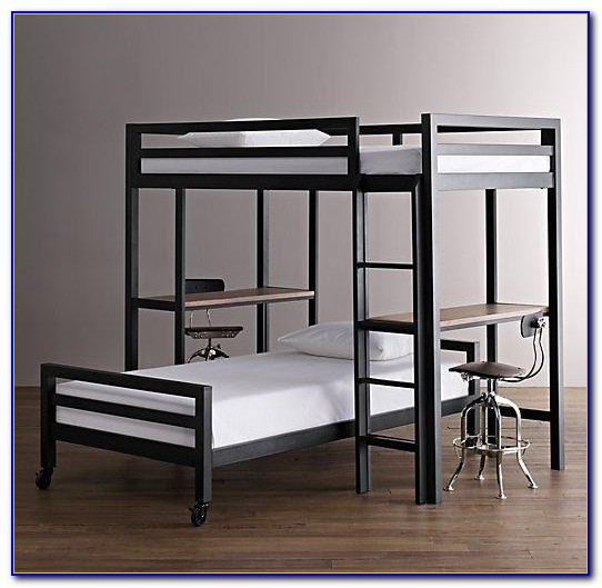 Bunk Beds With Desks Images