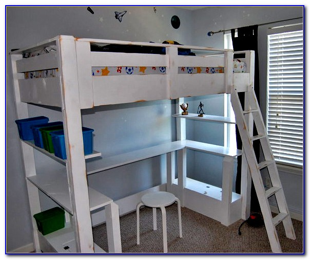 Bunk Beds With Loft And Desk
