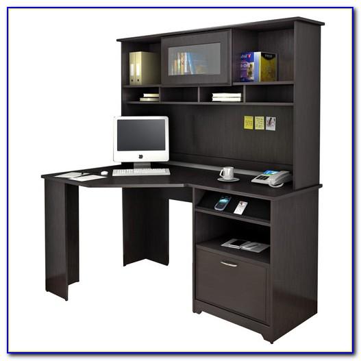 Bush Desk With Hutch