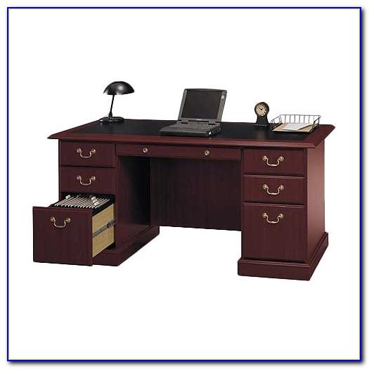 Bush Furniture Saratoga Executive Desk