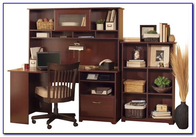 Bush Industries Cabot Corner Computer Desk With Hutch