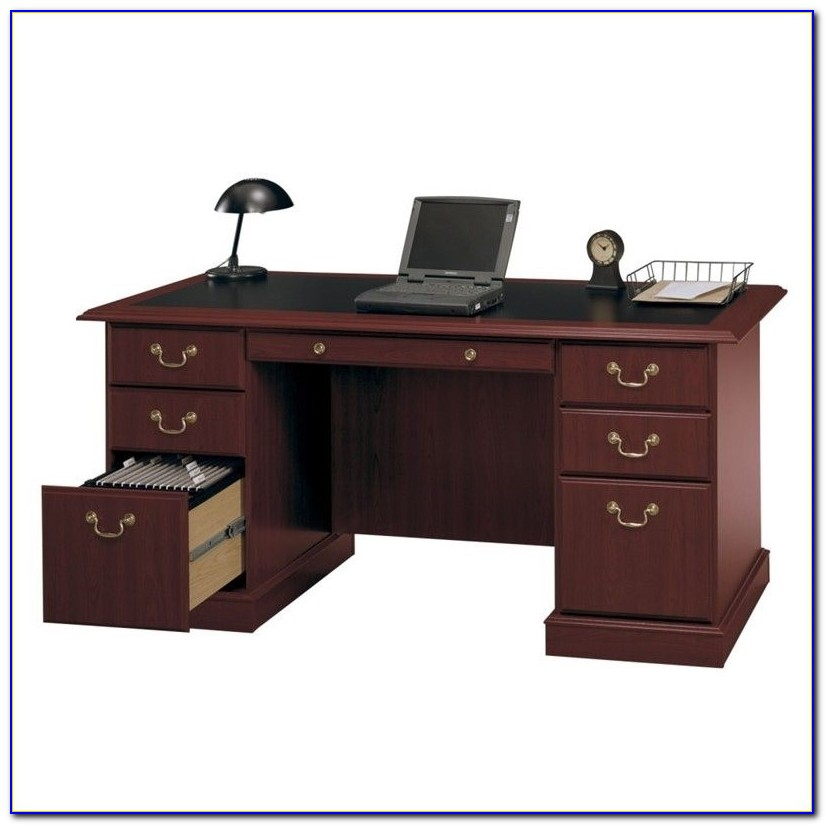 Bush Saratoga Executive Desk