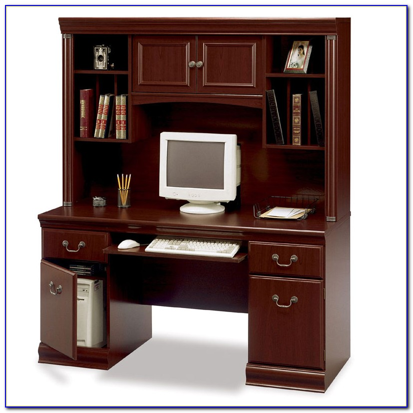Bush Saratoga L Shaped Executive Desk