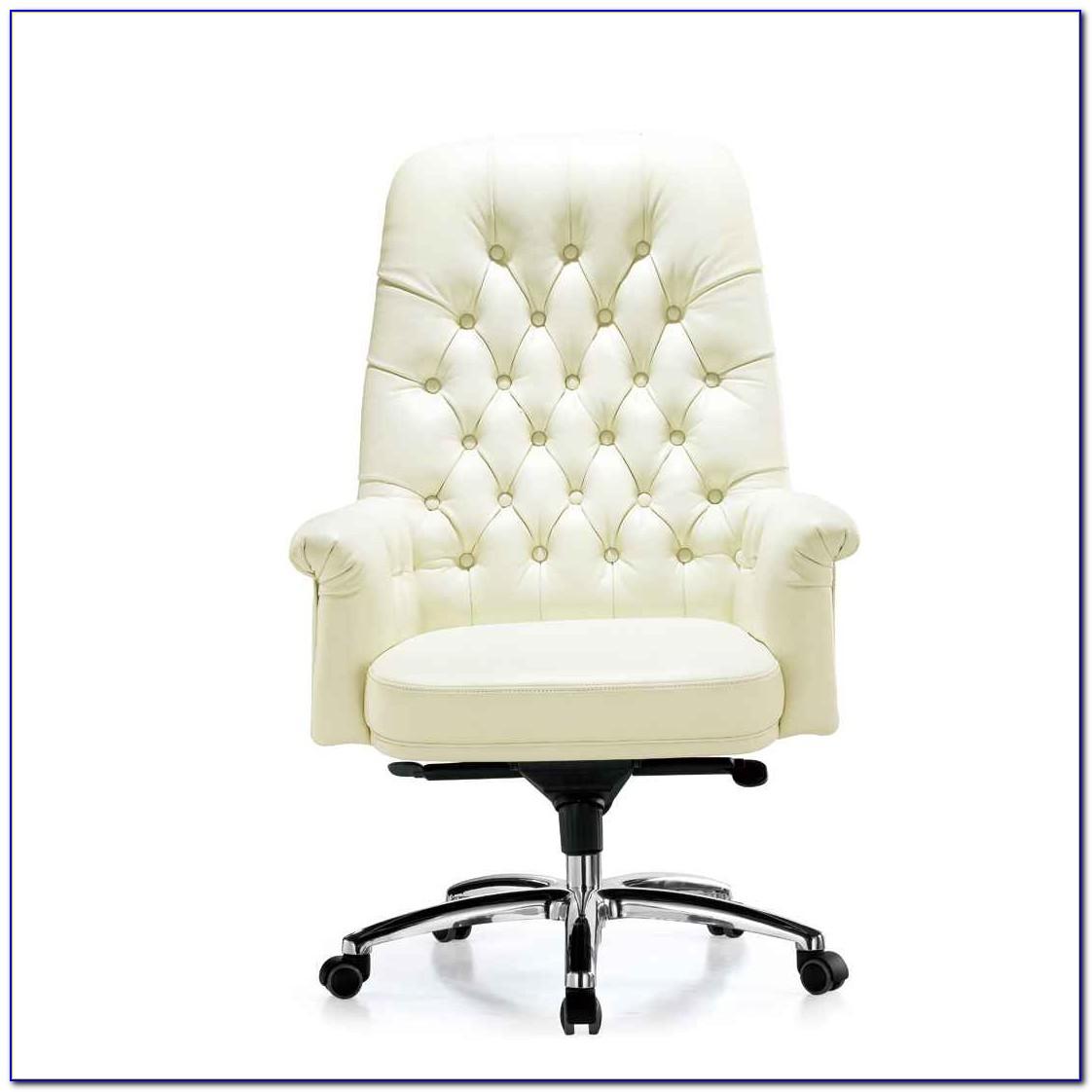Cherry Wood Swivel Desk Chair