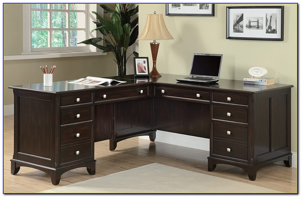Coaster L Shaped Home Office Desk