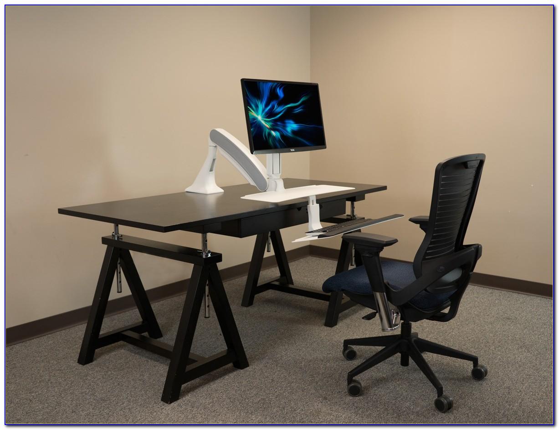 Convert Desk To Standing Workstation