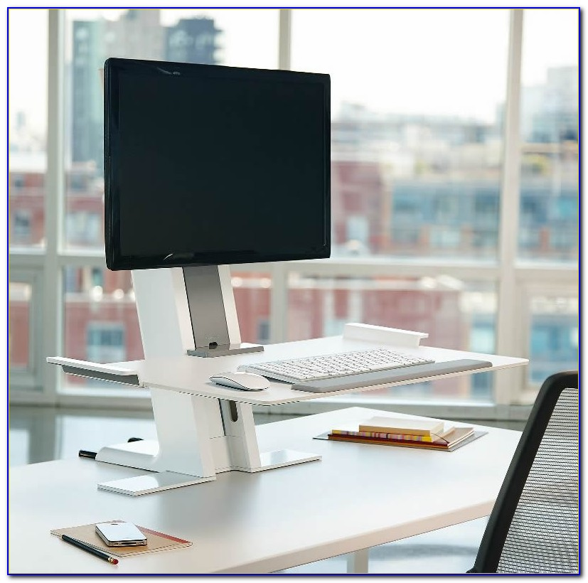 Convert Your Desk To A Standing Workstation