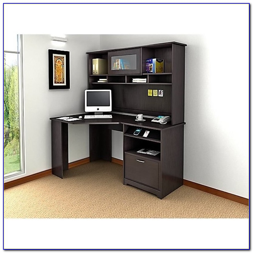 Corner Computer Desks With Hutch For Home