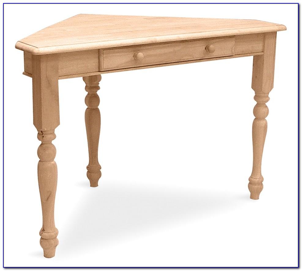 Corner Desk Solid Wood