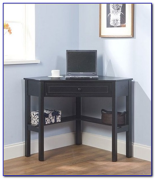 Corner Desk With Shelves And Drawers