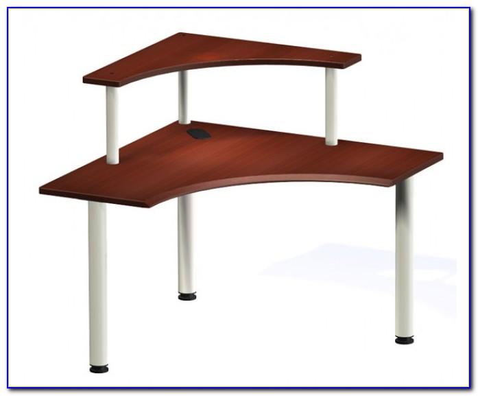 Corner Desks With Shelves