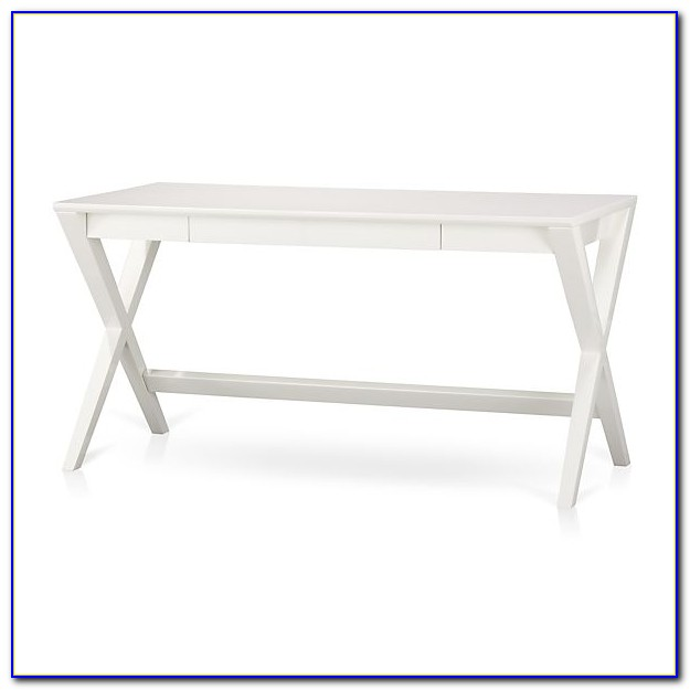Crate And Barrel Desk White