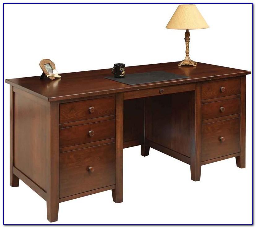 Custom Solid Wood Executive Desks