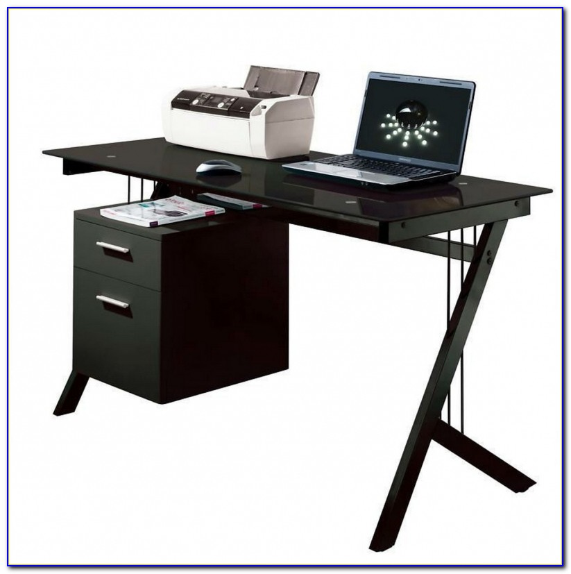 Desk For Laptop And Printer