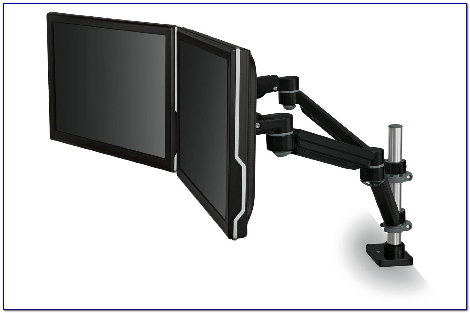 Desk Mount Dual Monitor Arm