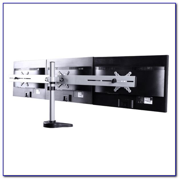 Desk Mount Triple Monitor Arm