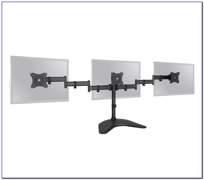 Desk Triple Monitor Mount